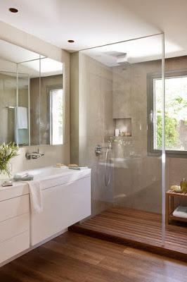 Tipos de Mamparas para cuarto de baño