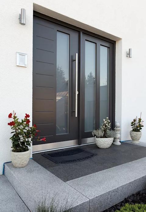 Puerta Entrada de Aluminio